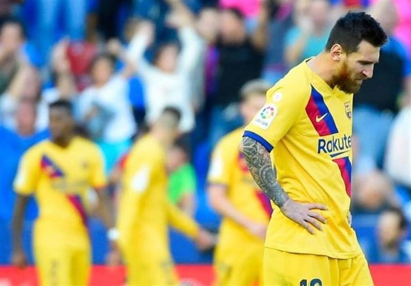 لالیگا ، لوانته با بازگشتی غافلگیر کننده، بارسلونا را شکست داد
