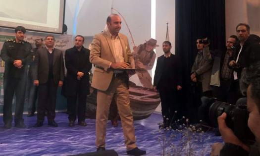استاد دانشگاه زنجان به عنوان قهرمان ملی تالاب انتخاب شد