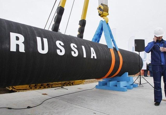 کشتی لوله گذار روسیه به دریای بالتیک رسید