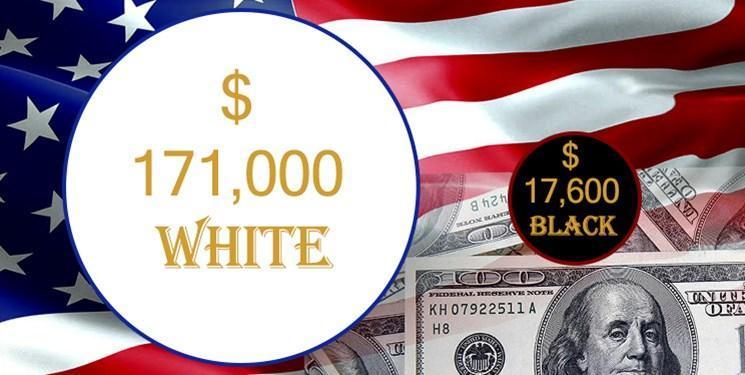 6 شاخص نابرابری و تبعیض نژادی میان سفیدپوستان و سیاه پوستان در آمریکا