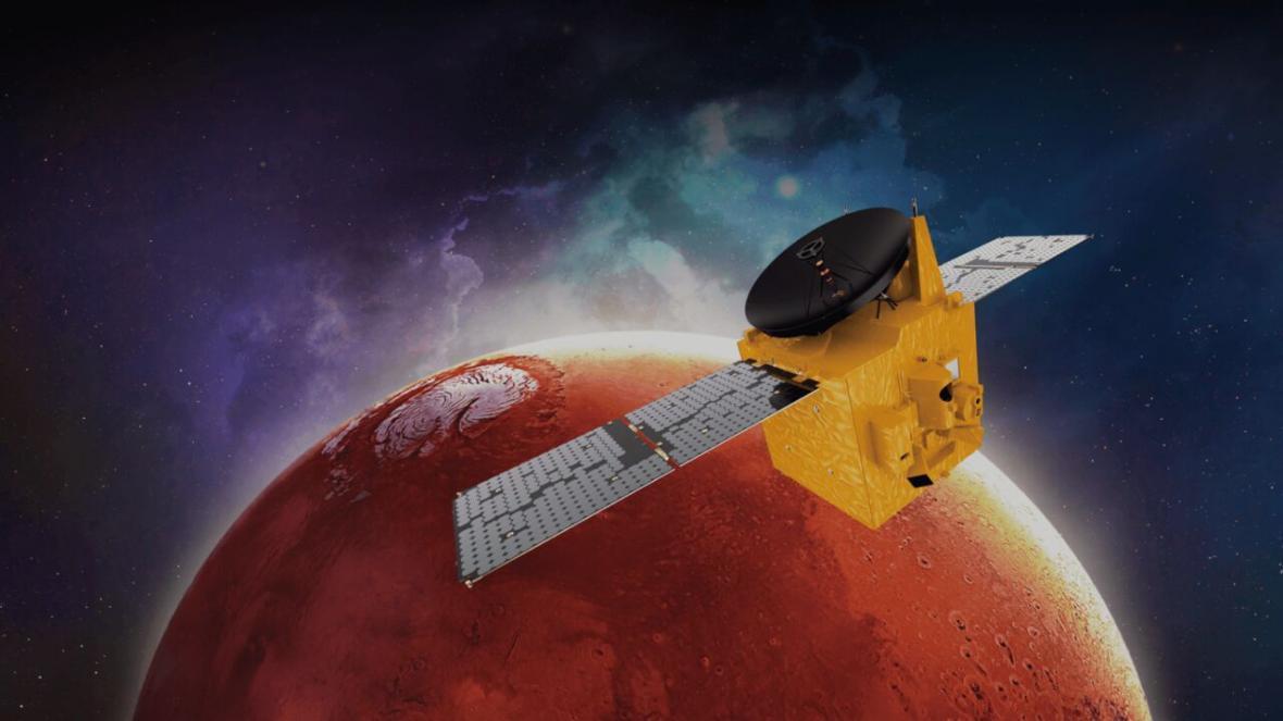 فضاپیمای امارات به مریخ رفت