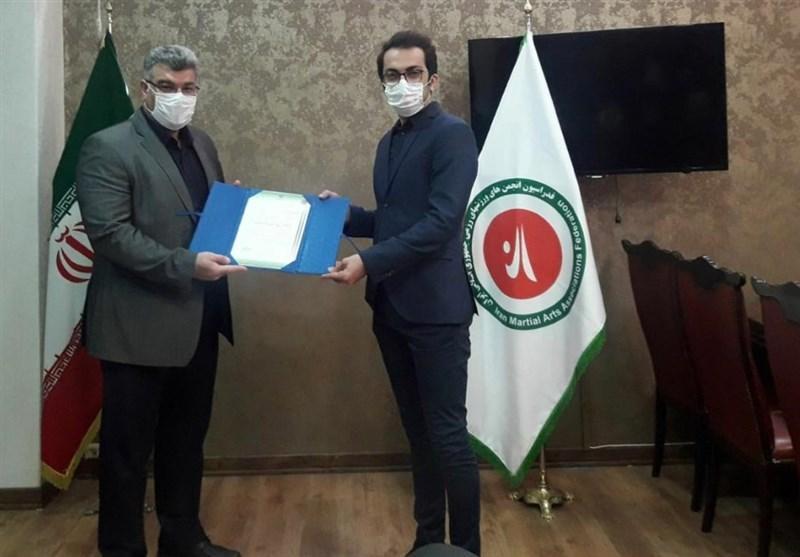 معرفی مشاور رسانه ای رئیس فدراسیون انجمن های ورزش های رزمی