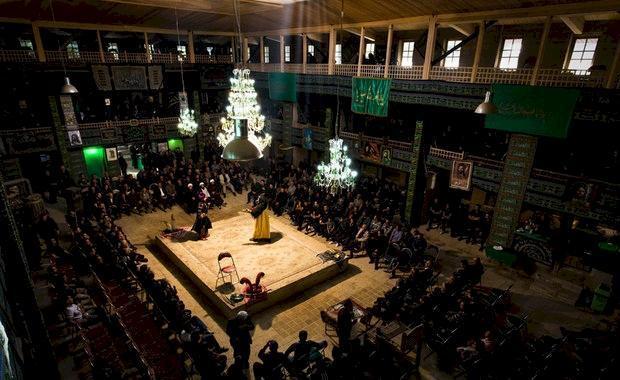 مستند فاخری از هنر تعزیه خوانی در تکیه اعظم برغان البرز ساخته می شود