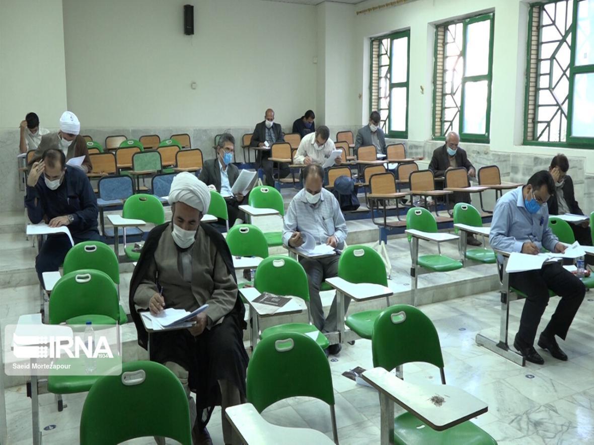 خبرنگاران برگزاری آزمون تصدی سِمت قضا با حضور 22 هزار داوطلب