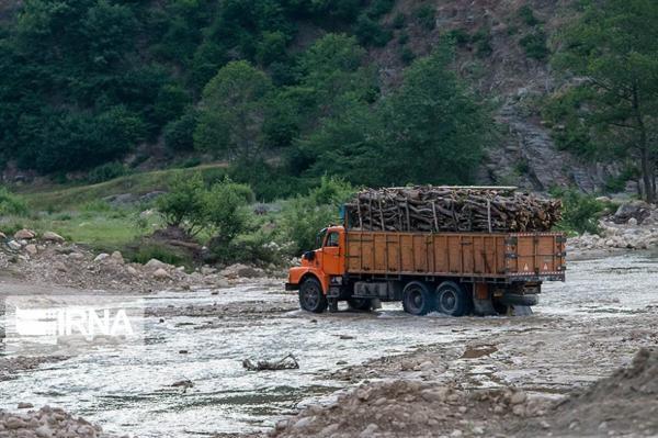 خبرنگاران کشفیات قاچاق چوب در مهاباد 90 درصد کاهش یافت