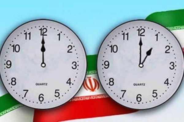 خبرنگاران ساعت رسمی کشور یک ساعت به جلو کشیده شد
