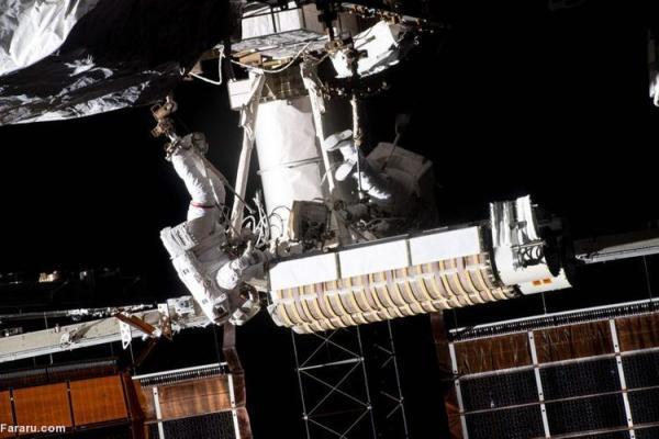 نصب پنل های خورشیدی نو در ایستگاه فضایی بین المللی