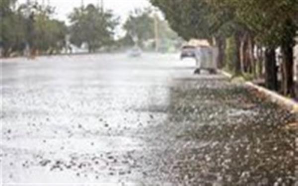 میانگین بارش سال آبی 157 میلی متر بود